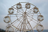 Ferris wheel processed in old style — Стоковое фото