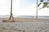 Swing on the beach at Similan island, Thailand. — Stock Photo