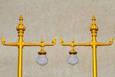 Thai lamp against on white — Stock Photo