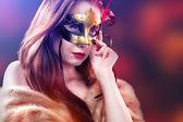 Karnawałowe maski weneckie — Zdjęcie stockowe