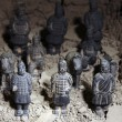 Terracotta soldiers — Stock Photo