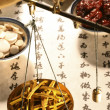 Chinese herbal medicine - Stockfoto