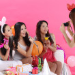 Royalty-Free Stock Photo: Girls having a party