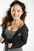 Photo of young asian woman — Stock Photo