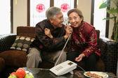 中国成熟几通电话 — 图库照片