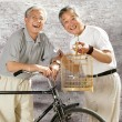 Oriental senior adult — Stock Photo
