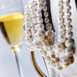 Stock Photo: Pearl necklace