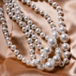 Pearl necklace — Stockfoto