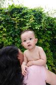 Little baby girl — Stock Photo
