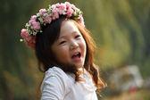 Portrait of little girl — Stockfoto