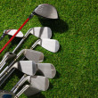 Stock Photo: Golf club in bag