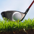 Golf club and ball — Stock Photo #37181925