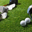 Golf clubs and balls — Stock Photo #37184013