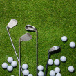Golf clubs and balls — Stock Photo #37185427