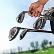 Removing golf club from bag — Stock Photo #37191815