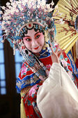 Actress Dressing As Beijing Opera Characters,China — Stockfoto