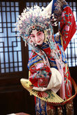 Actress Dressing As Beijing Opera Characters,China — Stok fotoğraf