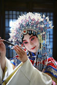 Actress Dressing As Beijing Opera Characters,China — Stock Photo