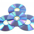 CD & DVD disk — Stock Photo