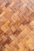 Bamboo wood texture ,Thai handwork — Stock Photo