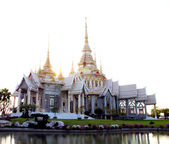 Acient temple building in Thailand — Stock Photo