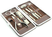 Tools of a manicure set — Stock Photo