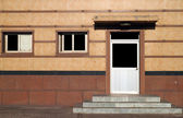 Door and window of the house — Stock Photo