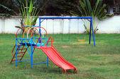 Playground without children — Stock Photo