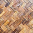 Stock Photo: Bamboo wood texture ,Thai handwork