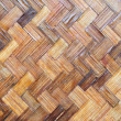 Bamboo wood texture ,Thai handwork — Stock Photo #26439053