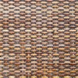 Brown wicker texture as background — Stock Photo