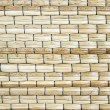 Close up of woven mat texture background — Stock Photo #26446377