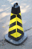 Traffic cone on the street — Stock Photo
