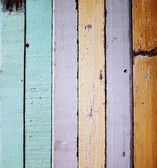 Old colour wooden wall texture — Stock Photo