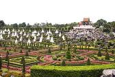 Tailândia 26 março de 2012: jardim botânico tropical de nongnooch, pa — Foto Stock