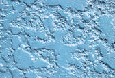 Close up blue texture wall background — Stock Photo