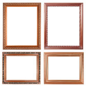 4 copper picture on white background — Stock Photo