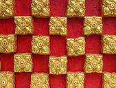 Будда стена тайского стиля шаблон дизайна — Стоковое фото