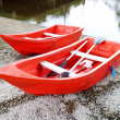 Red rowboat — Stock Photo #26510043
