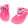 Stock Photo: Pink slippers