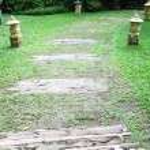 Wooden pathway — Stock Photo #26511121