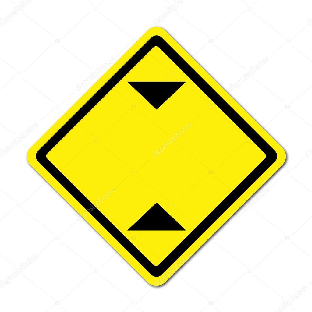 Panneau de signalisation de limitation hauteur blanc photographie geargodz 26511475 - Panneau agglomere blanc ...