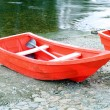 Red rowboat — Stock Photo #26527485