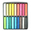 Multicolored artist's pastels (chalk) — Stock Photo #26539703