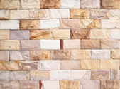 Stone brick wall texture — Photo