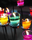Aromatic candle — Foto Stock