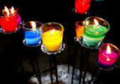 Aromatic candle — Stockfoto