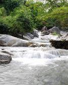 Kao Chon waterfall, Ratchaburi, Thailand — Stock Photo