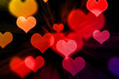 Abstract background with heart background — Stock Photo