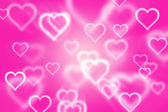 Abstract background with heart background — Photo